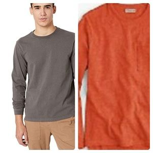 New j crew Heritage jersey Long Sleeve Top